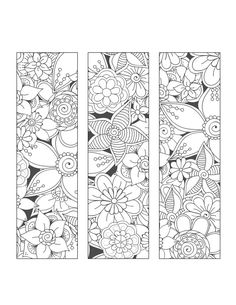 Discover recipes, home ideas, style inspiration and other ideas to try. Free Adult Coloring Pages, Cute Coloring Pages, Coloring Books, Zentangle Patterns, Mosaic Patterns, Pattern Art, Diy Collage, Free Printable Bookmarks, Bookmark Printing
