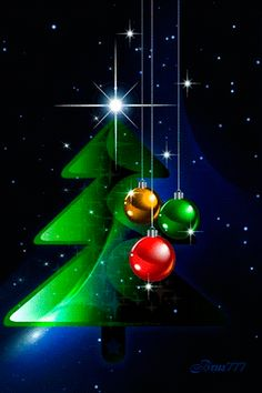 Decent Image Scraps: Christmas Tree Animation