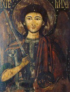 Archange Saint Michel icône roumaine
