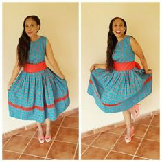shweshwe,addition set of most recent shweshwe acknowledge been chosen. I hero worship these styles so plentiful and I absitively to apportioning with you. Best Wedding Dresses, Designer Wedding Dresses, New Dress, Lace Dress, Traditional Dresses Designs, Shweshwe Dresses, Africa Fashion, Dress Picture, African Dress