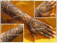 Full Hand BRIDAL Traditional Wedding Henna Mehndi Design Tutorial