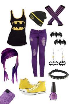 Batman Outfit!! LOVEEEEEEEEEE!! Soooo me!