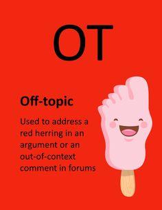 O.T. - Off-Topic