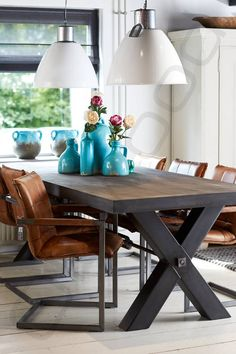 Best Modern Industrial Dining Furniture Set Design And Decorating Ideas Decor, Furniture, Industrial Dining Furniture, Home Furniture, Dining Furniture, Furniture Sets Design, Dining Rug, Home Decor, Contemporary Furniture