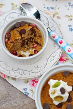 Sweet Potato Chocolate Chip Jar Cakes Recipe | FamilyFreshCooking.com
