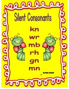 Silent Consonants is the tool for instruction, practice, and reinforcement to enable students  to decode words with silent letters.     Much practice includes:    Circling the silent letter in a word.    Selecting a word to go with a picture.    Sentence completion    Word searches    Spelling picture names    Determine if sentences are true or false    Words and sentences to read for fluency