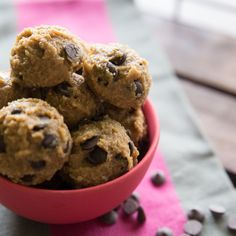 Gluten Free Cookie Dough Bites - Tried and Tasty