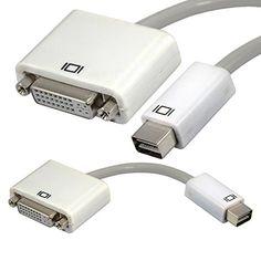 Mini DVI Male to DVI Female 24+5 pin Convertor Adapter for Macbook pro Mac mini Generic http://www.amazon.com/dp/B00MVMAMOO/ref=cm_sw_r_pi_dp_ZG9hub1YQ7TVC