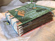 Handmade Travel Journal /Scrapbook/mini Album Mixed Media Art, Photo Album    eBay