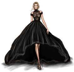 47 New ideas fashion sketches dresses moda Fashion Drawing Dresses, Fashion Illustration Dresses, Fashion Illustrations, Fashion Dresses, Drawing Fashion, Hijab Fashion, Trendy Fashion, Runway Fashion, Fashion Art