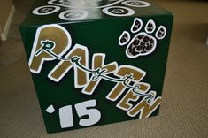 I have been hand painting cheer boxes since 1995. I have painted and continue to paint cheer boxes for schools in Orange County, LosAngelesCounty, San Diego County, Riverside County, and Nevada....