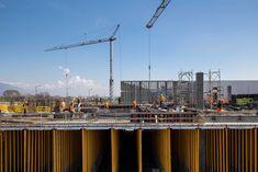 New Vimar Logistics Pole - Atelier(s) Alfonso Femia AF517Atelier(s) Alfonso Femia AF517 Construction Area, Steel Buildings, Master Plan, Castle, Landscape, Architecture, City, Italy, Arquitetura