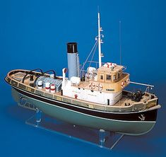 The Mantua Model Ship Kit Anteo Tug is a quality Mantua Model Boat Kit making for a great Wooden Model Ship Kit. Get Started on your Hobby today! Make A Boat, Build Your Own Boat, Model Ship Kits, Model Ships, Bateau Rc, Wooden Model Boats, Plywood Boat, Boat Kits, Toys