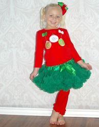 Christmas Ornaments Premium Pettiskirt Set $29.99 only  at www.gabskia.com