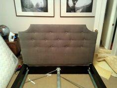 ikea malm bed headboard hack for harrison's room