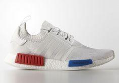 adidas nmd weiß rot blau
