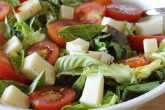A more salad like take on the Caprese. YUM