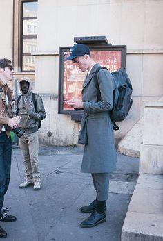 Street Style Models Menstyle, Paris Street Style : Casual Suit - Lelook