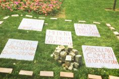 Symbolic tombs of the lives lost during protests in Gezi Park. #occupygezi #ocupytaksim #occupytogether #direngeziparkı #direngeziparki