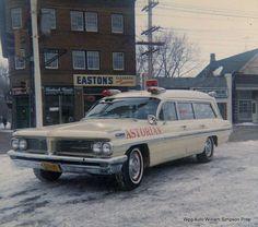 1962 pontiac`vintage Ambulance
