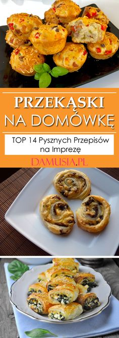 Party Snacks, Party Recipes, Top 14, Chicken, Breakfast, Ethnic Recipes, Food, Fitness, Polish Recipes
