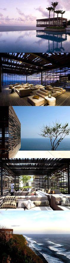 Alila Villa – Luxury Villa in Uluwatu Bali Bali Luxury Villas, Alila Villas Uluwatu, Bahamas House, Bali Prewedding, Denpasar, Space Architecture, Cheap Hotels, Beach Hotels, Hotel Deals