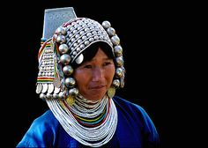 Akha Woman - Golden Triangle, the area where the borders of Burma, Laos and Thailand meet.  |  © Michael Sheridan