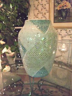 Mosaic Wrap Vase