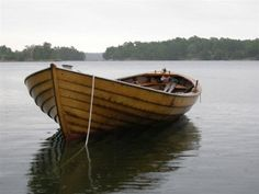 Eknö. Wooden Boat.