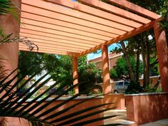 Composite wood plastic arbor products in the United States