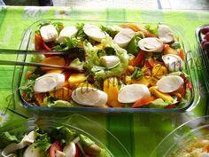 Receita de molhos de saladas