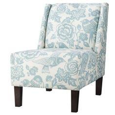 Target Hayden Armless Chair - Blue Floral