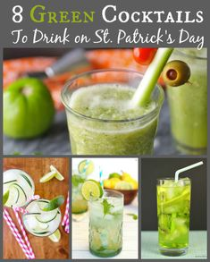 8 Green Cocktails To Drink On St. Patrick's Day