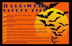 Happy Halloween everyone and lets make sure we keep the children safe!