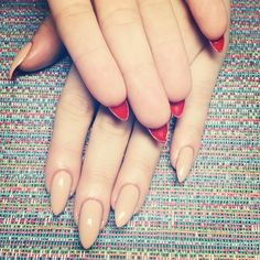 FRESH, ORIGINAL, BAD ASS NAILS for the people! — Nude-Loub's for the sweetest bday girl...