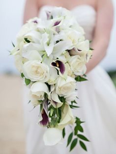 Add some of these statement stems to your bridal bouquet for the perfect whimsical cascading bunch.