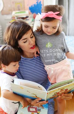 """These adorable little mateys love reading """"My Pirate Adventure"""" with their mom! What a treasure of tale... and a treasure of a photo from LoveTaza @lovetaza"""