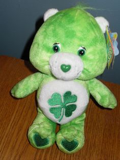 NWT LIMITED EDITION TIE DYE GOOD LUCK BEAR 2003 CARE BEARS PLUSH DOLL #AllOccasion