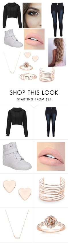 """""""Coffee Date"""" by ryahal ❤ liked on Polyvore featuring G by Guess, Jouer, Ted Baker, Alexis Bittar and Kendra Scott"""