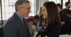 'The Intern' Trailer Starring Robert de Niro & Anne Hathaway -- A 70-year old widower becomes a senior intern at an online fashion site in the first trailer for 'The Intern'. -- http://movieweb.com/intern-movie-trailer-2015/
