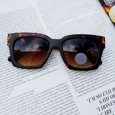 New Sunglasses New Sunglasses  Matte finish  TORTOISE   I'm modeling the same sunnies in different color. Accessories Sunglasses