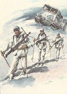 Italian Army, Warfare, Arctic, Weapons, Mountain, Paintings, Drawings, Climbing, Mountains