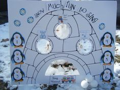 i heart primary music: Snow Much Fun to Sing in an IGLOO
