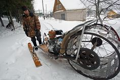 In countries like Russia, people try to make their snowmobiles out of all garbage products. Usually, the snowmobiles available in market are very expensive and it is hard to afford such a price by poor people of Russia. So they go for recycling garbage products and convert them into snowmobiles for their personal movement to various places. These recycled vehicles are more durable and also requires very minimum investment as most of the parts are garbage elements. This kind of recycling…