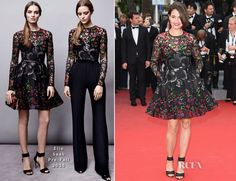 Marie Gillain In Elie Saab – 'Irrational Man' Cannes Film Festival Premiere
