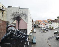 ROA. Nuart 2013. Stavanger, Norway. (photo © Roa)