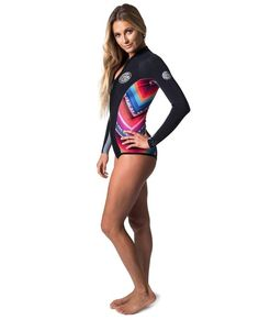 WOMEN'S G-BOMB SUBLIMATED L/S BIKINI CUT SPRING 1MM | RIP CURL