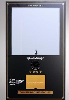 fotobooth voor op het huwelijk / trouw