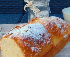 pan brioche soffice Plum Cake, Almond Cakes, Biscotti, Cornbread, Vanilla Cake, Sweet Recipes, Cheesecake, Ethnic Recipes, Desserts