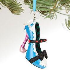 Alice in Wonderland Shoe Ornament
